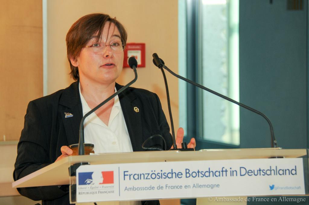 Grußwort von Dr. Melanie von Orlow (IV Reinickendorf-Mitte e.V.)