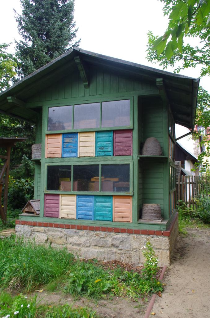 Das Bienenhaus...